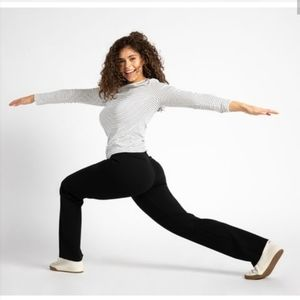 BETABRAND Straight Leg Dress Pant Yoga Pants XL